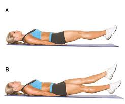latihan perut bawah