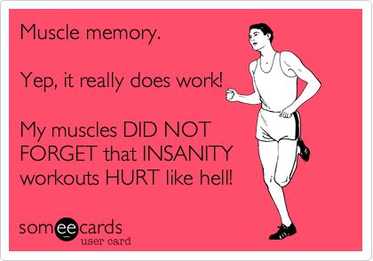 muscle-memory