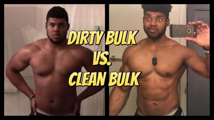 dirty bulk vs clean bulk